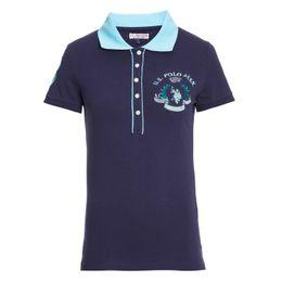 Camisa-Polo-U-S--Polo-Assn--Feminina-Patch-Flower-Azul-Marinho-Azul-Marinho-GG_0