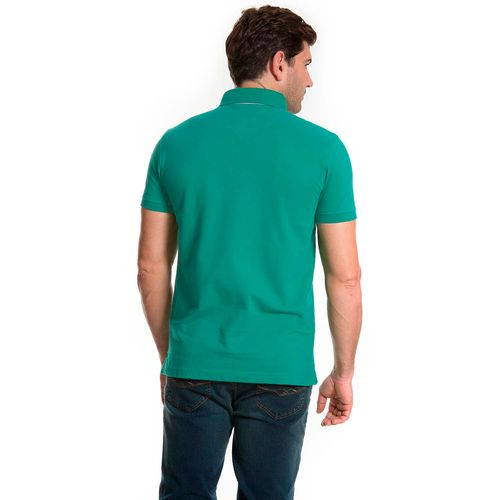 camisa-polo-aleatory-basica-modelo-2015-verde-costas