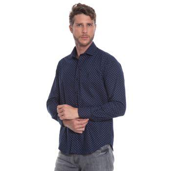 camisa-masculina-aleatory-social-estampada-haven-modelo-3-