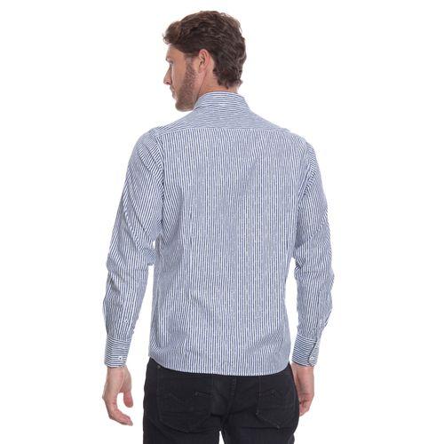 camisa-masculina-aleatory-social-branca-listras-marinho-modelo-5-