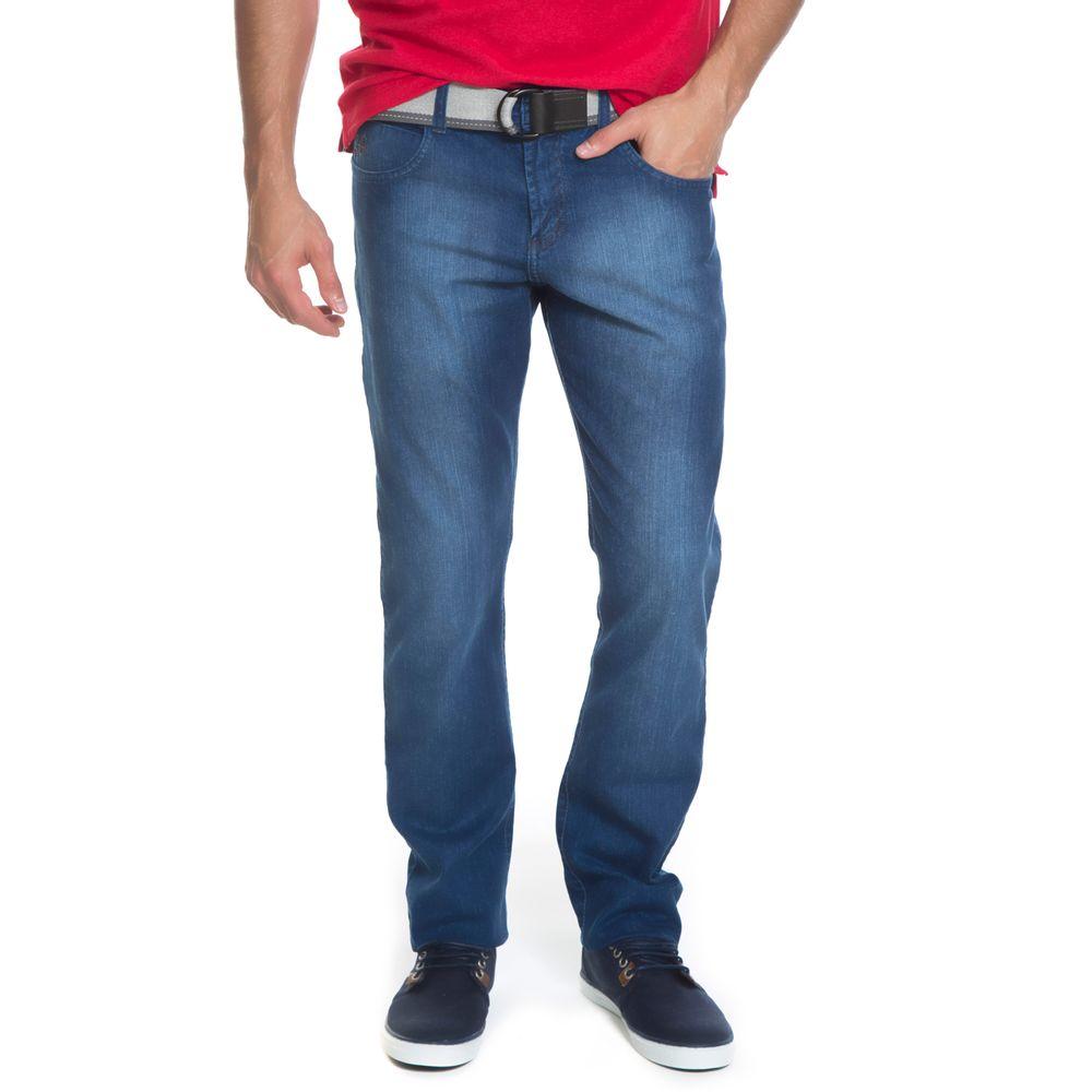 Calça Jeans Aleatory Skinny Sax