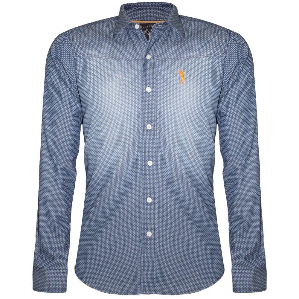 Camisa Aleatory Jeans Light