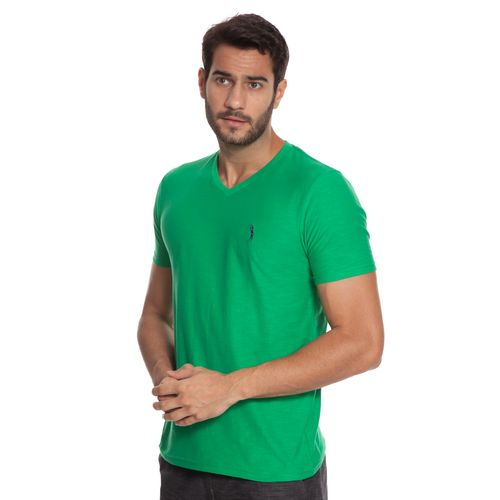 camiseta-aleatory-masculina-flame-gola-v-verde-modelo-4-