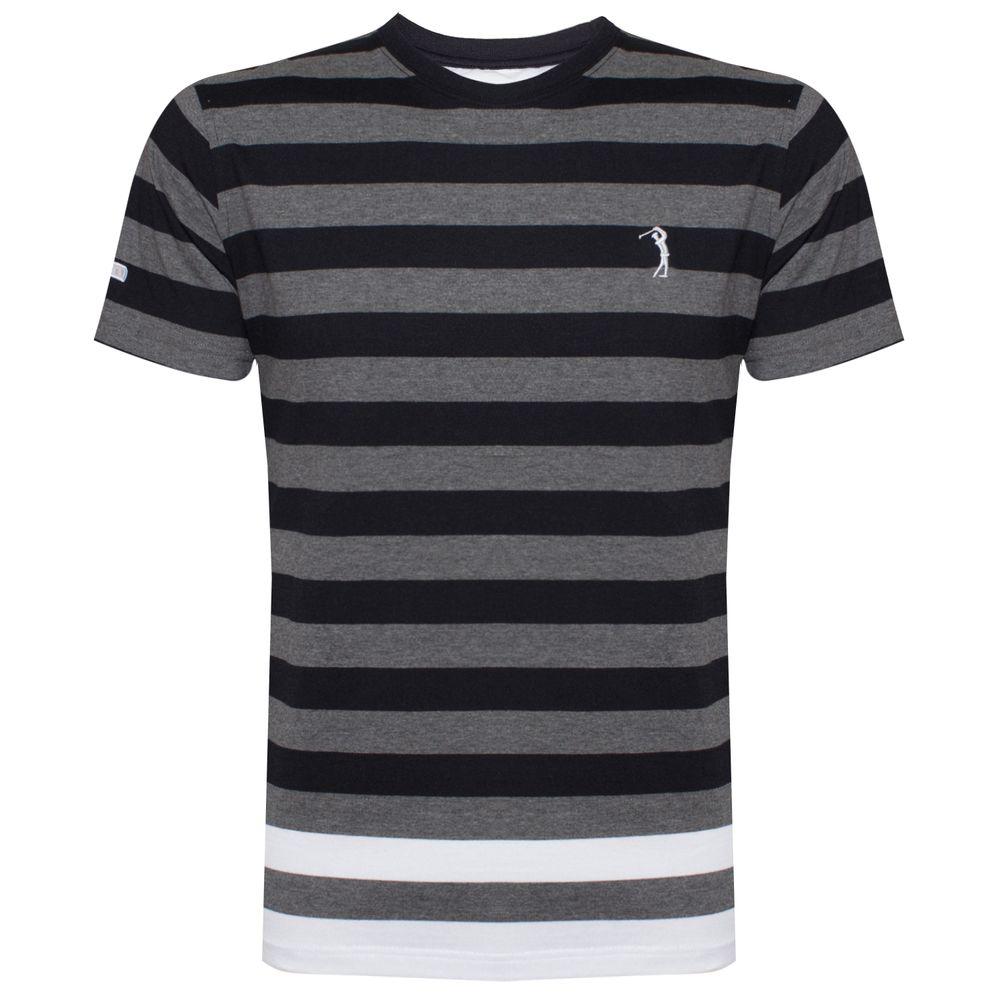 Camiseta Aleatory Listrada Hard
