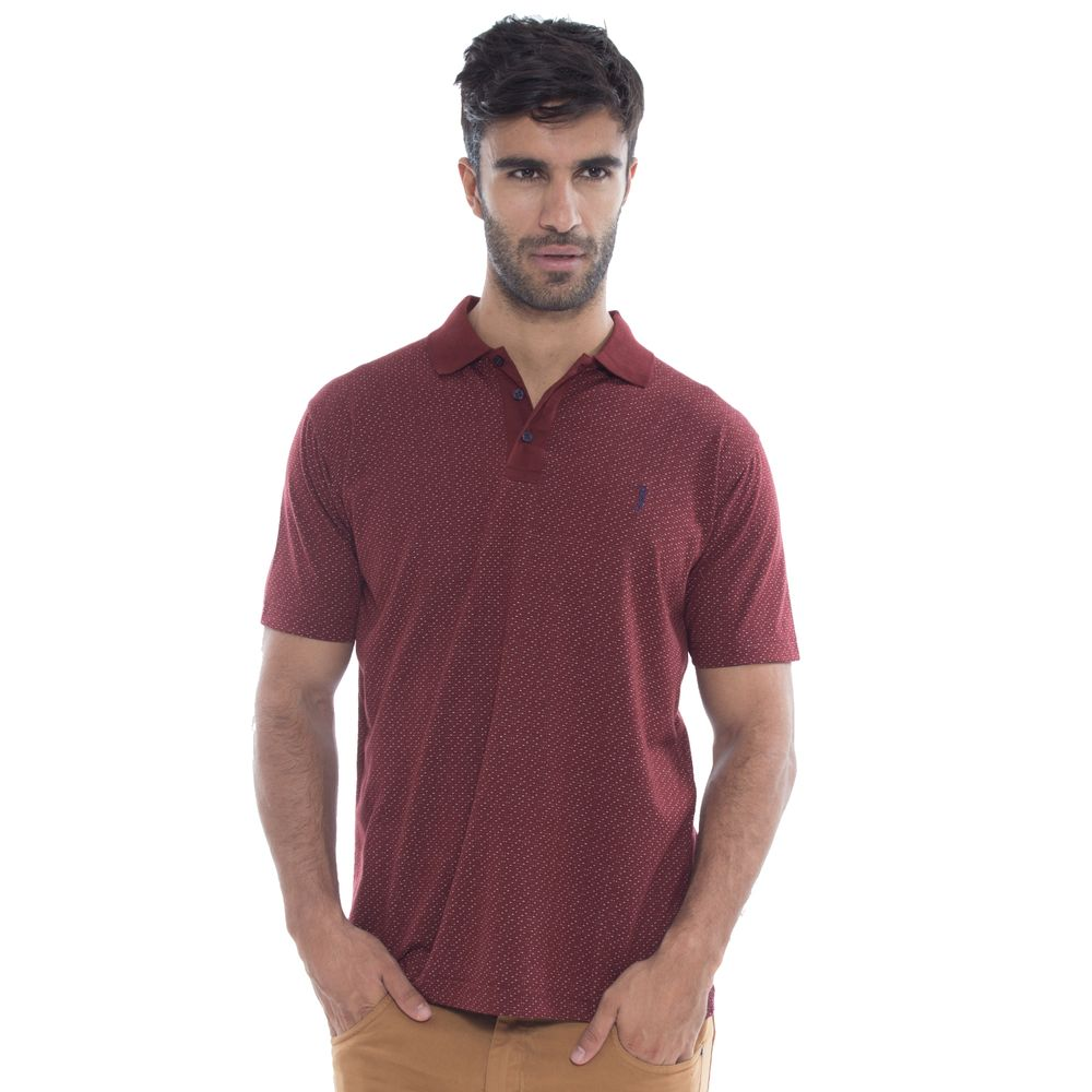 Camisa Polo Aleatory Mini Print Source