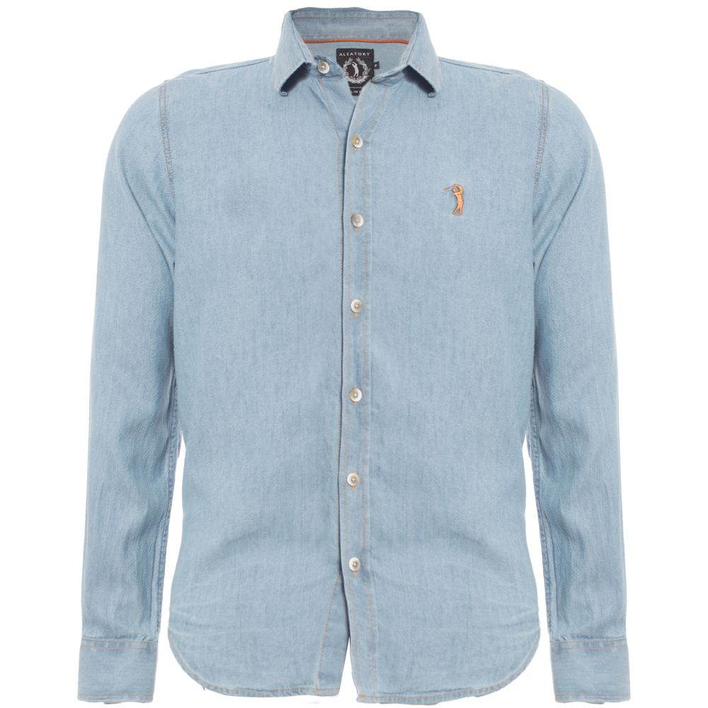 Camisa Jeans Aleatory Token