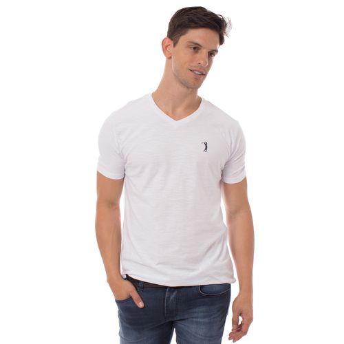 camiseta-aleatory-masculina-flame-gola-v-sunset-branca-modelo-1-