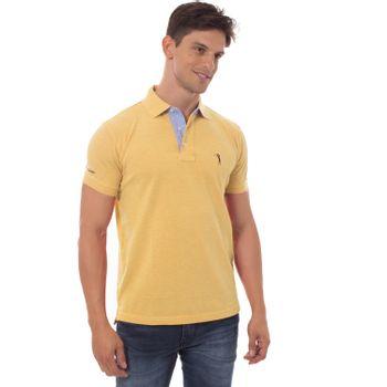 camisa-polo-aleatory-lisa-mescla-amarelo-modelo-4-