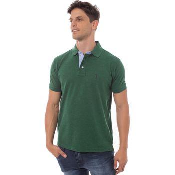 camisa-polo-aleatory-lisa-mescla-verde-modelo-1-