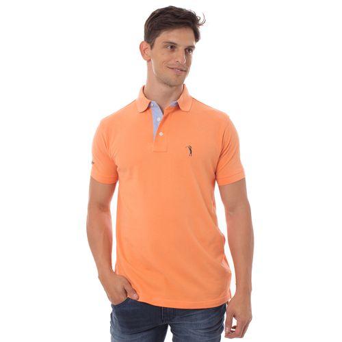 camisa-polo-aleatory-masculina-lisa-laranja-modelo-1-