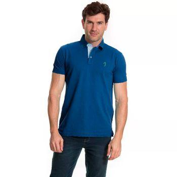 camisa-polo-aleatory-masculina-basica-azul-frente