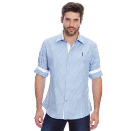Camisa-Social-Listrada-Aleatory-Streak-azul-modelo--1-