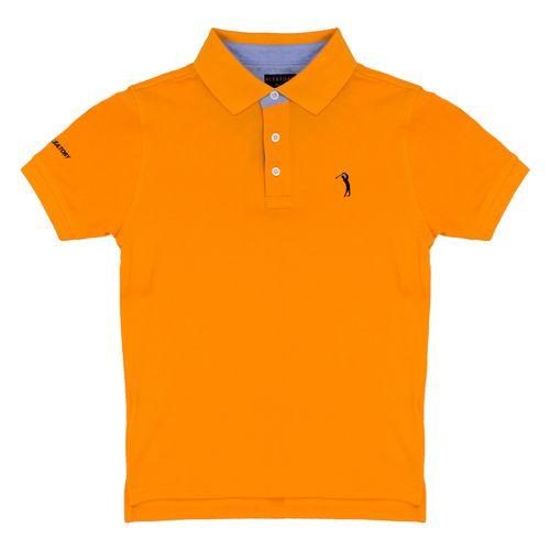 camisa-polo-laranja-lisa-infantil-aleatory-still