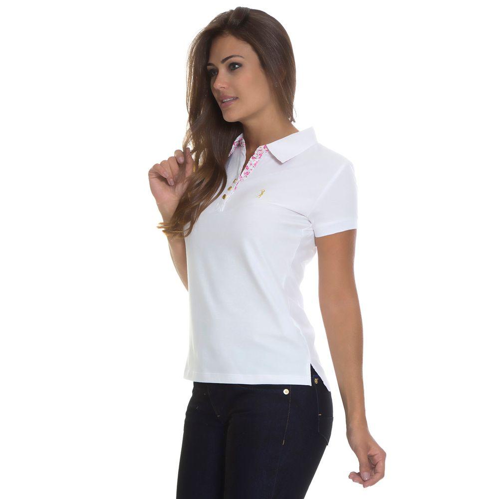 01e18ef014 Camisa Polo Aleatory Lisa Feminina Sensations Aleatory