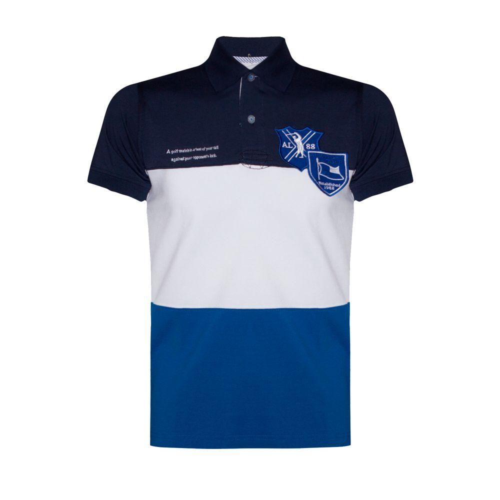 8e84ebafe Camisa Polo Aleatory Infantil Patch Spunk - Aleatory