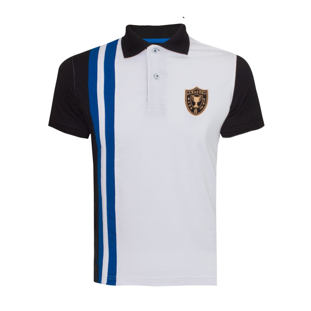 966e90ab7e Camisa Polo Aleatory Patch Infantil Core - Aleatory