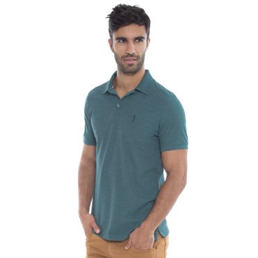 camisa-polo-aleatory-masculina-piquet-light-mescla-modelo-21-