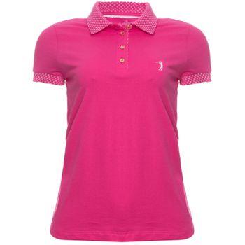 9d0a7d225a Camisa Polo Aleatory Feminina Lisa Flat