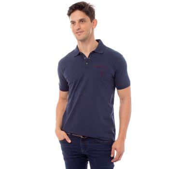 Camisa-Polo-Aleatory-Lycra-Lisa-Azul-Marinho-Metade