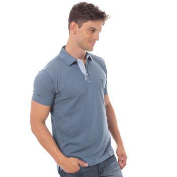 camisa-polo-aleatory-lisa-mescla-azul-modelo-9-
