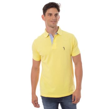 camisa-polo-aleatory-masculina-lisa-amarelo-modelo-1-