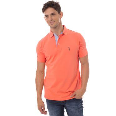 camisa-polo-aleatory-masculina-lisa-laranja-modelo-5-