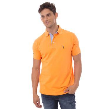 camisa-polo-aleatory-masculina-lisa-laranja-modelo-9-