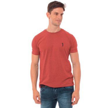 camiseta-aleatory-masculina-basica-new-mescla-laranja-modelo-1-