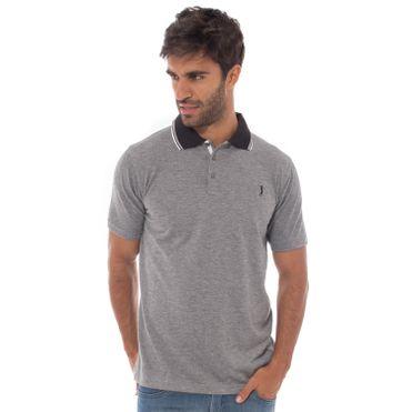 camisa-polo-aleatory-masculina-jacquard-mini-print-olive-modelo-5-