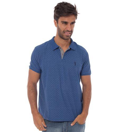 camisa-polo-aleatory-masculina-piquet-mini-print-real-modelo-1-