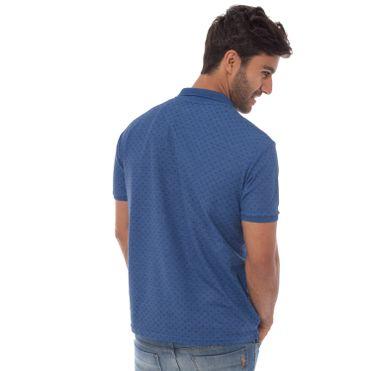 camisa-polo-aleatory-masculina-piquet-mini-print-real-modelo-2-
