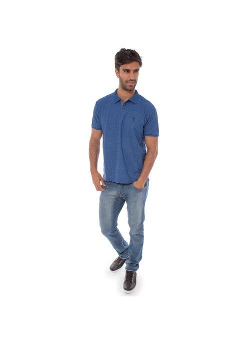 camisa-polo-aleatory-masculina-piquet-mini-print-real-modelo-3-