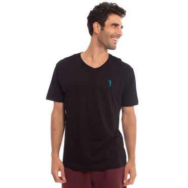 camiseta-aleatory-masculina-lisa-meia-malha-gola-v-touble-modelo-33-