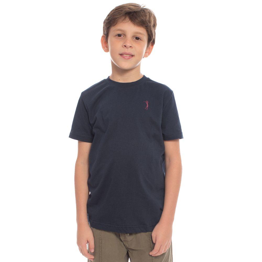 82169c0782 Camiseta Básica Aleatory Kids Lisa Azul - Aleatory