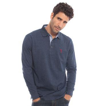 camisa-polo-aleatory-masculina-lisa-manga-longa-azul-marinho-modelo-1-