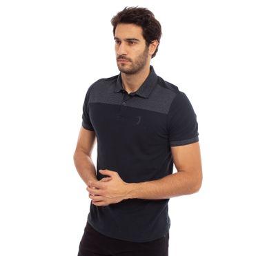 camisa-polo-aleatory-masculina-piquet-com-recorte-listrado-modelo-1-