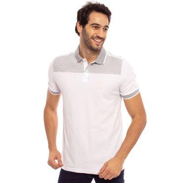 camisa-polo-aleatory-masculina-piquet-com-recorte-listrado-modelo-5-