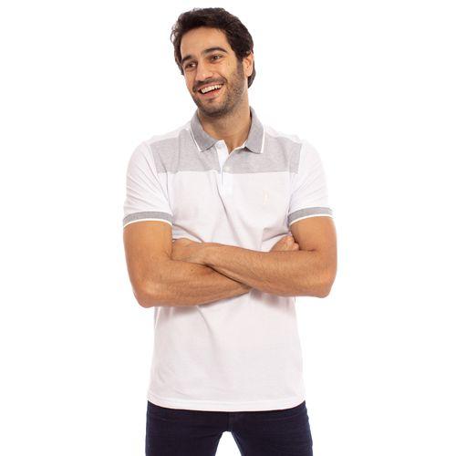 ce1bb0fd8e ... camisa-polo-aleatory-masculina-piquet-com-recorte-listrado-