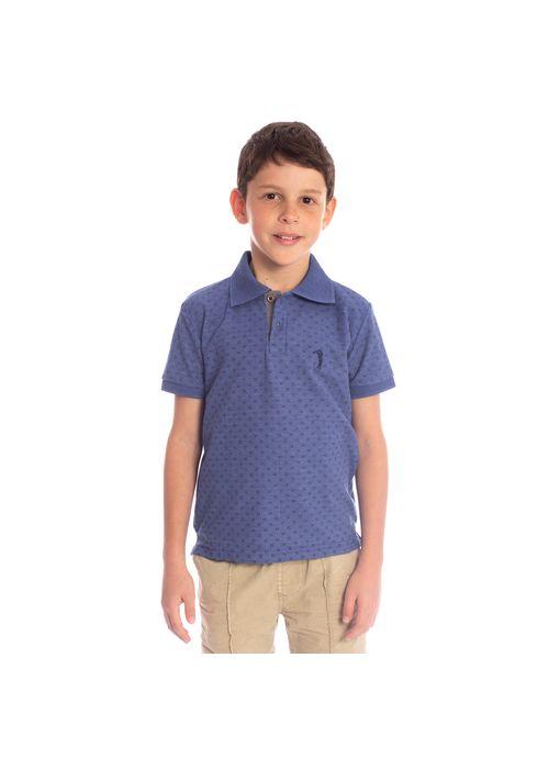 camisa-polo-aleatory-infantil-piquet-mini-print-real-modelo-1-