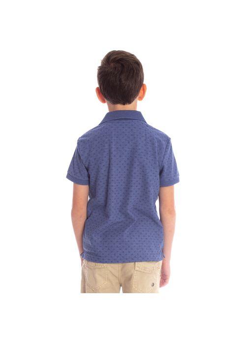 camisa-polo-aleatory-infantil-piquet-mini-print-real-modelo-2-