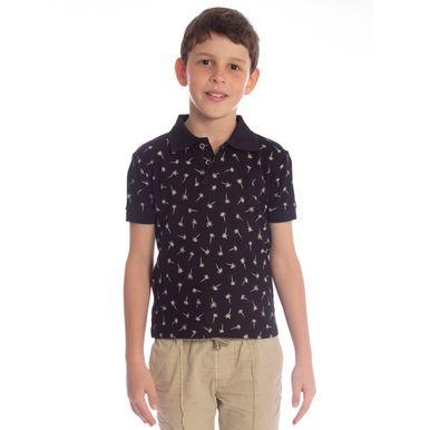 camisa-polo-aleatory-infantil-piquet-mini-print-royalty-modelo-4-