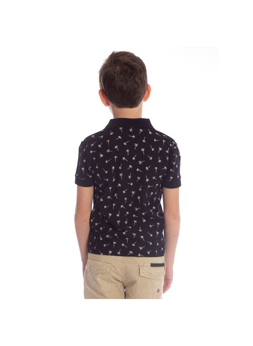 camisa-polo-aleatory-infantil-piquet-mini-print-royalty-modelo-5-