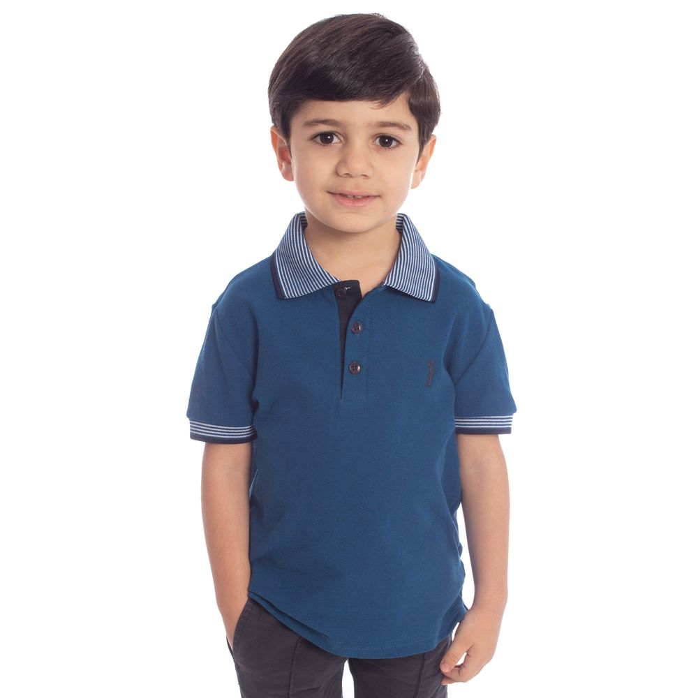 594a0dd01 Aleatory · Lançamentos · Infantil · Roupas · Polos. camisa-polo-aleatory- infantil-piquet-gola-listrada-march ...