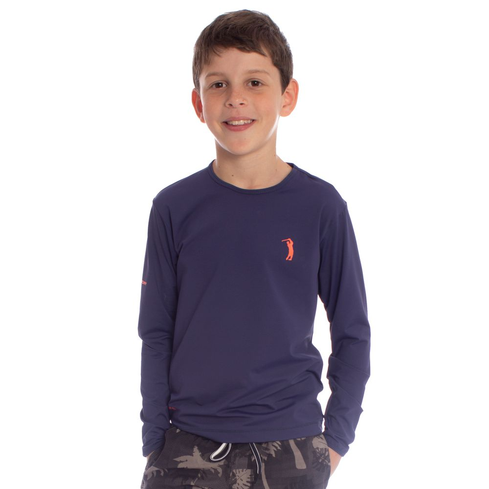 90f5aa2c93 Camiseta Aleatory Infantil com Proteção Solar UV - Aleatory