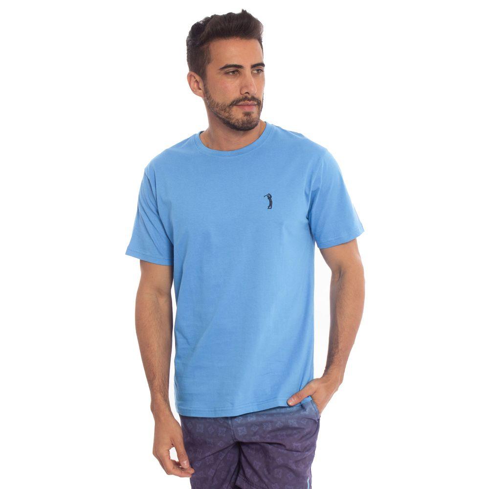 708a836ed8 Camiseta Azul Lisa é na Aleatory Store! Compre aqui - Aleatory