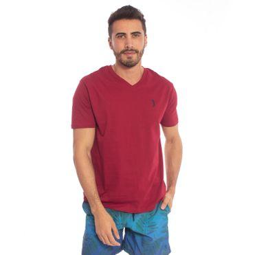 camiseta-aleatory-masculina-summer-2018-lisa-meia-malha-gola-v-modelo-1-