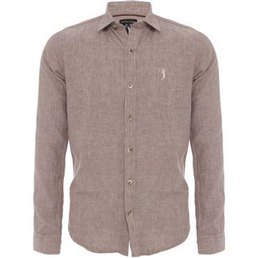 camisa-aleatory-masculina-manga-longa-linho-marrom-still-1-