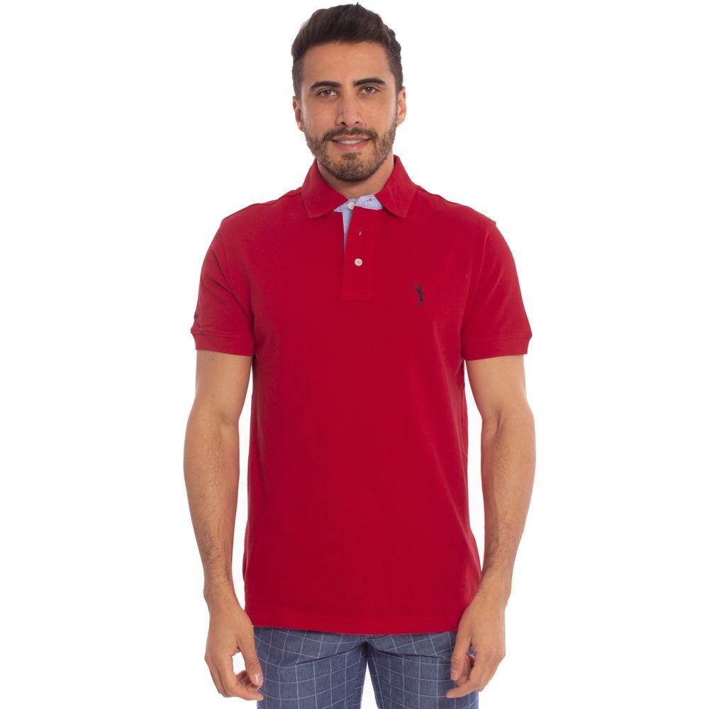 eb5378beb1 Camisa Polo Vermelha Lisa é na Aleatory Store - Aleatory