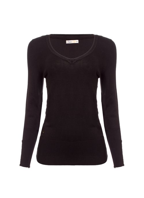 Suéter feminino e camisa polo é sinônimo de elegância no trabalho online ou offline
