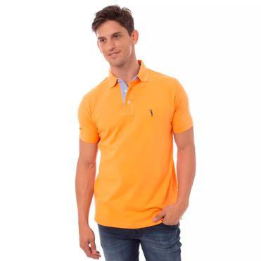 camisa-polo-laranja-lisa-aleatory2